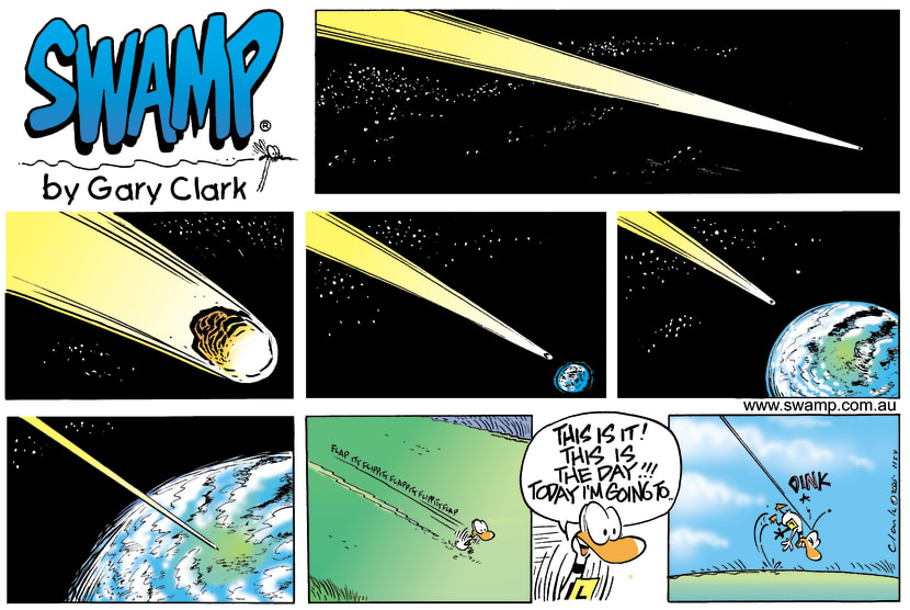 Swamp Cartoon - Space AgeAugust 21, 2005