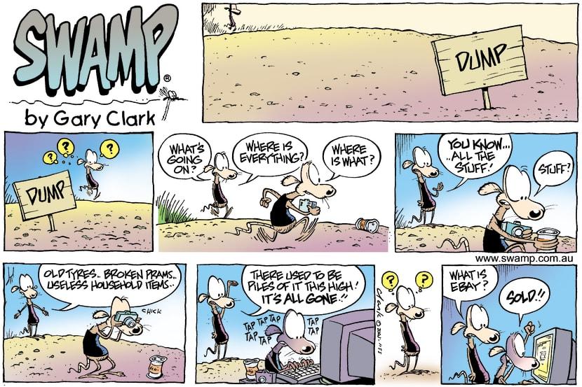 Swamp Cartoon - EBay funAugust 28, 2005
