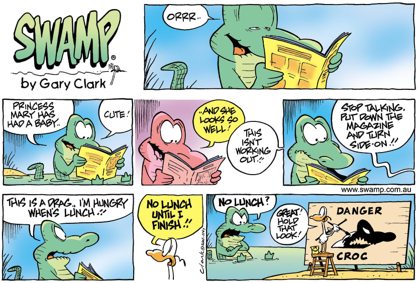 Swamp Cartoon - Role ModelNovember 20, 2005