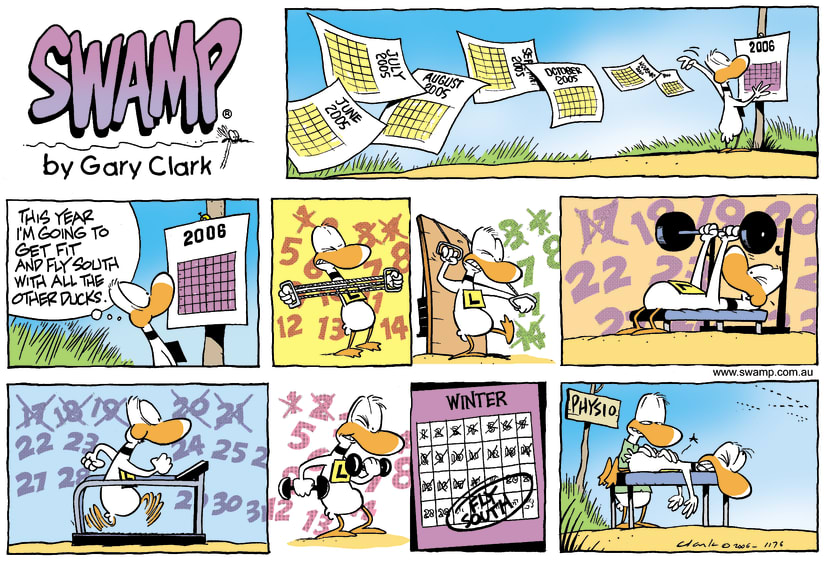 Swamp Cartoon - Preparing to flyJanuary 22, 2006