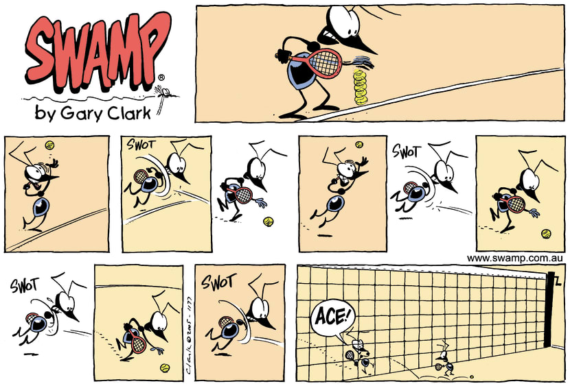 Swamp Cartoon - Ants AcesJanuary 29, 2006