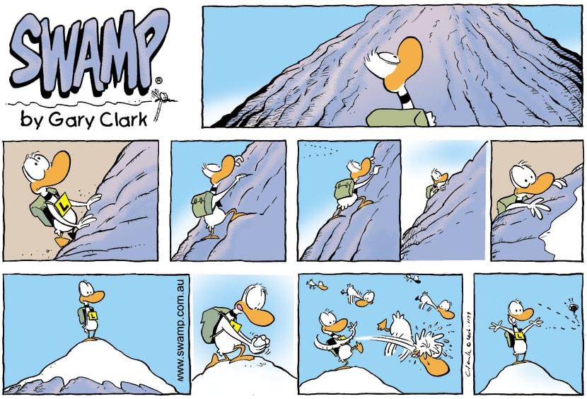 Swamp Cartoon - Climb every mountainFebruary 12, 2006