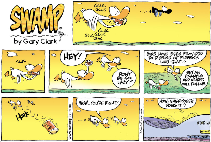 Swamp Cartoon - Enviromentally FriendlyApril 16, 2006