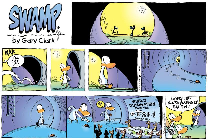 Swamp Cartoon - Hidden secretsJune 18, 2006