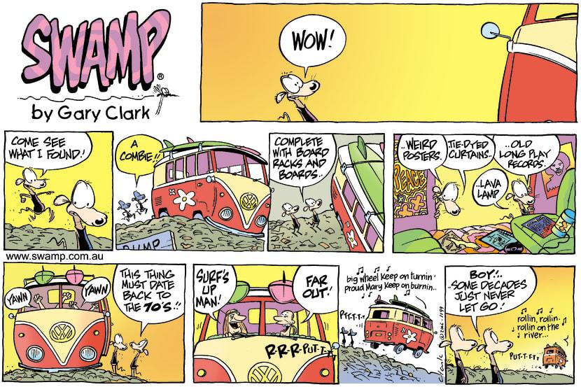 Swamp Cartoon - Hey dudeJuly 2, 2006