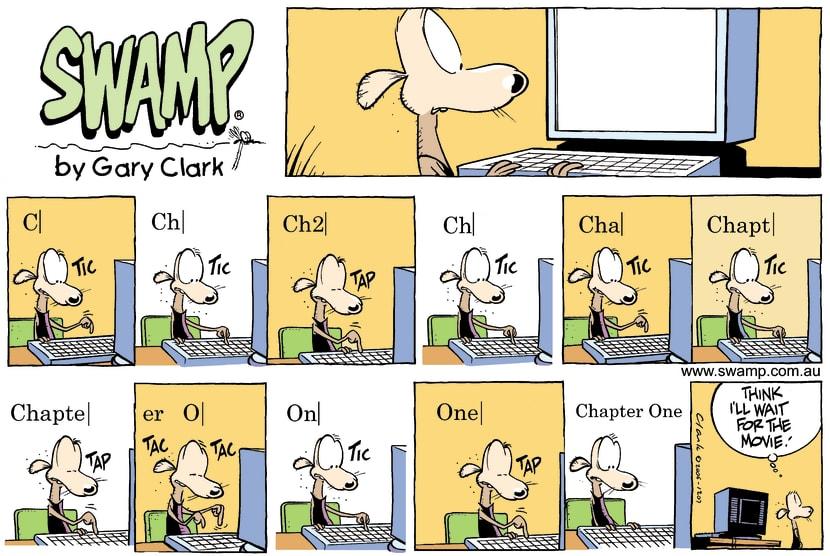 Swamp Cartoon - The great ideaAugust 27, 2006