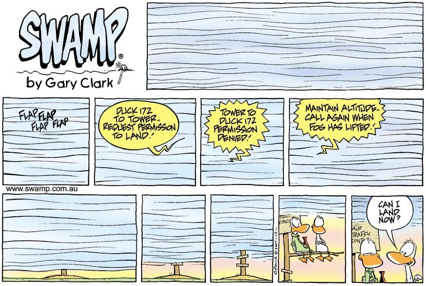 Swamp Cartoon - Foggy daysSeptember 24, 2006