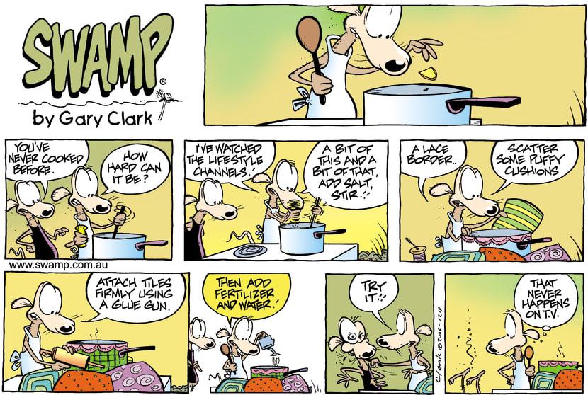 Swamp Cartoon - Lifestyle AnticsNovember 19, 2006