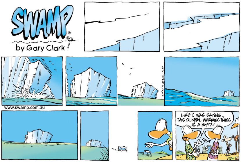 Swamp Cartoon - Ice AgeJanuary 14, 2007