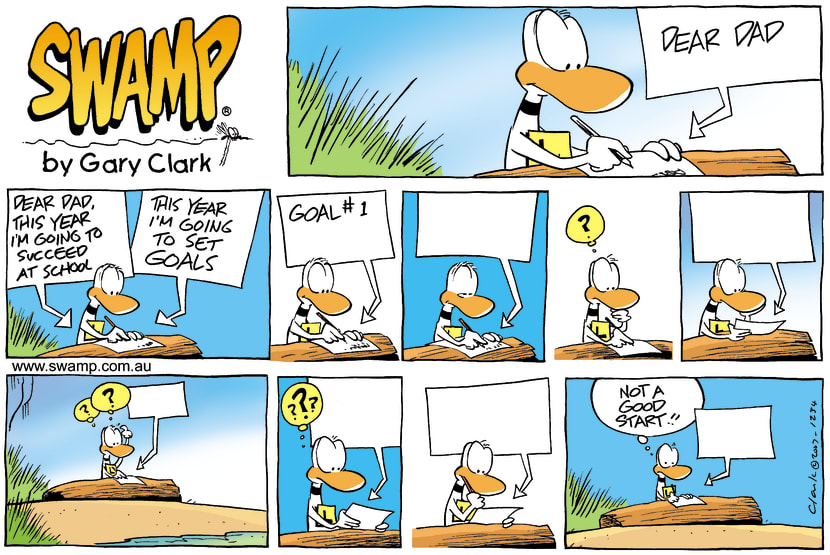 Swamp Cartoon - Goals settingMarch 4, 2007