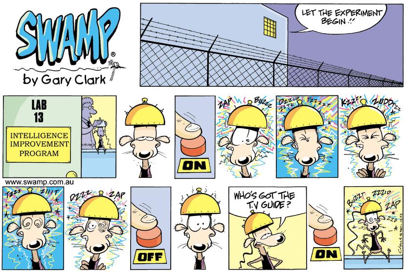 Swamp Cartoon - Its a living….July 15, 2007