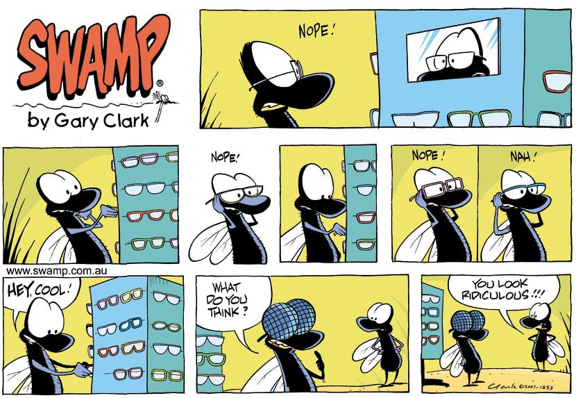 Swamp Cartoon - Glass eyesJuly 22, 2007