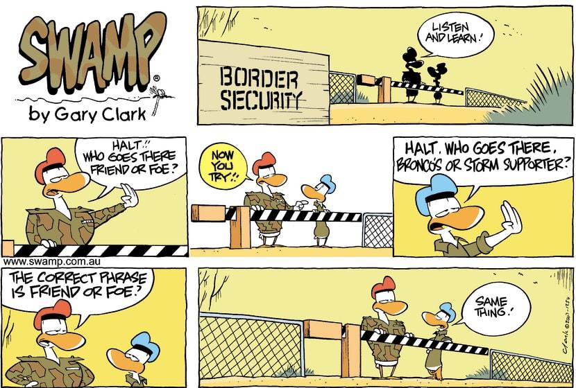 Swamp Cartoon - High SecurityJuly 29, 2007