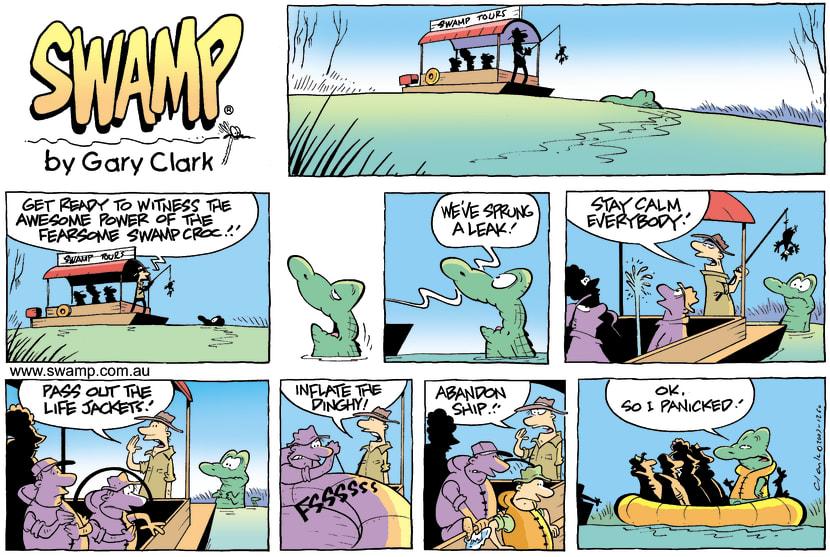 Swamp Cartoon - Fight or FlightSeptember 9, 2007