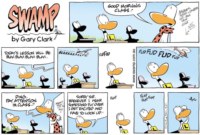 Swamp Cartoon - Morning ClassOctober 28, 2007