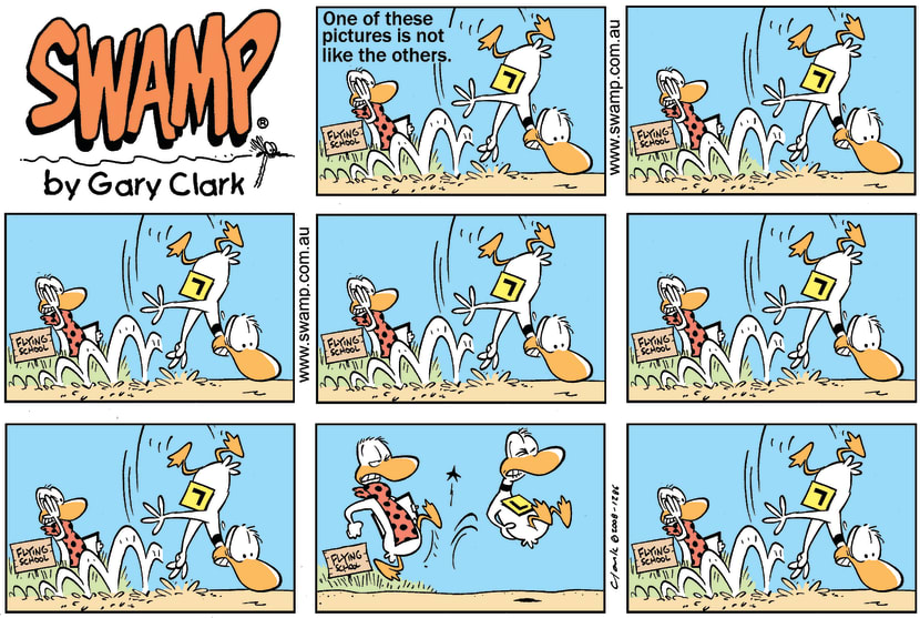 Swamp Cartoon - Find the differenceMarch 16, 2008
