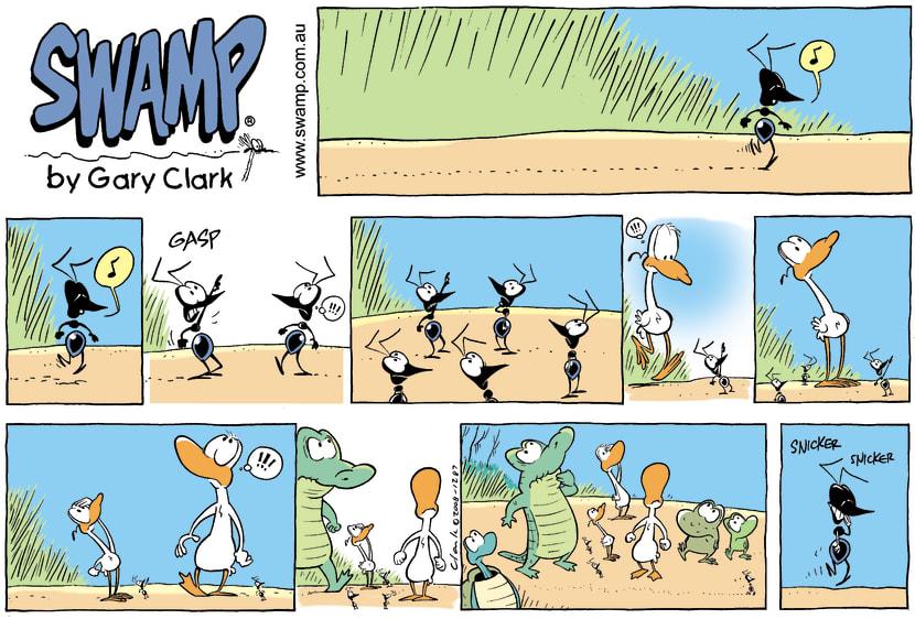Swamp Cartoon - Small VictoryMarch 23, 2008