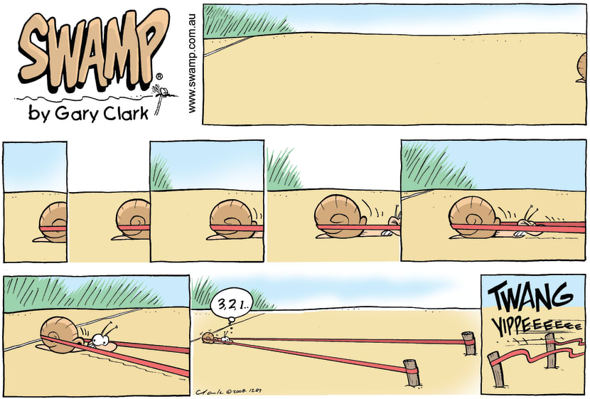 Swamp Cartoon - Big AmbitionsApril 6, 2008