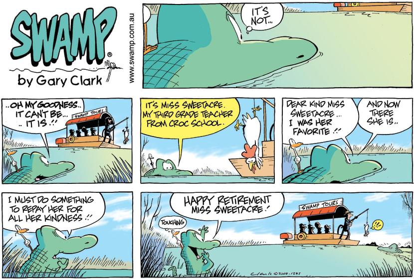 Swamp Cartoon - Down Memory LaneMay 18, 2008