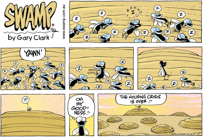 Swamp Cartoon - Good News!!!May 25, 2008