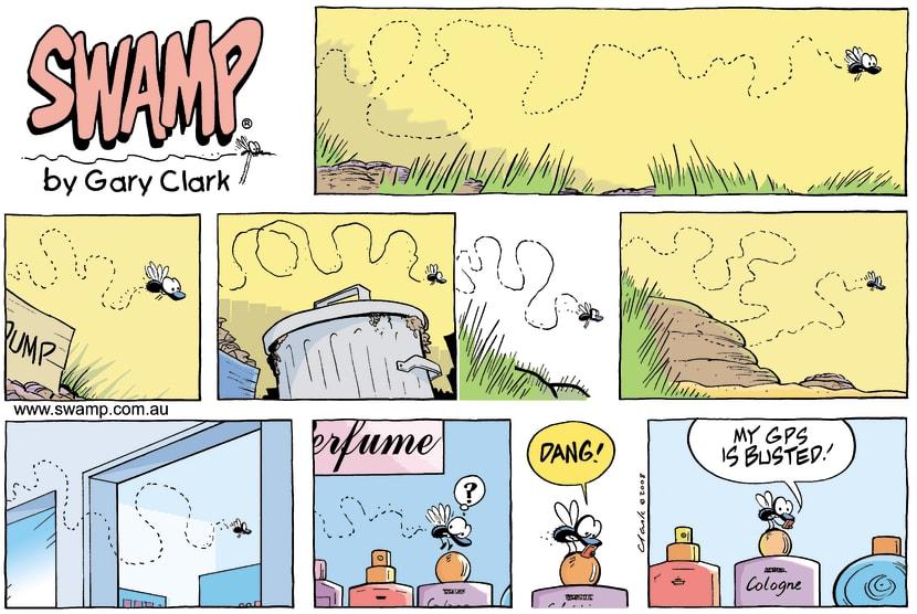 Swamp Cartoon - Poor DirectionJune 8, 2008