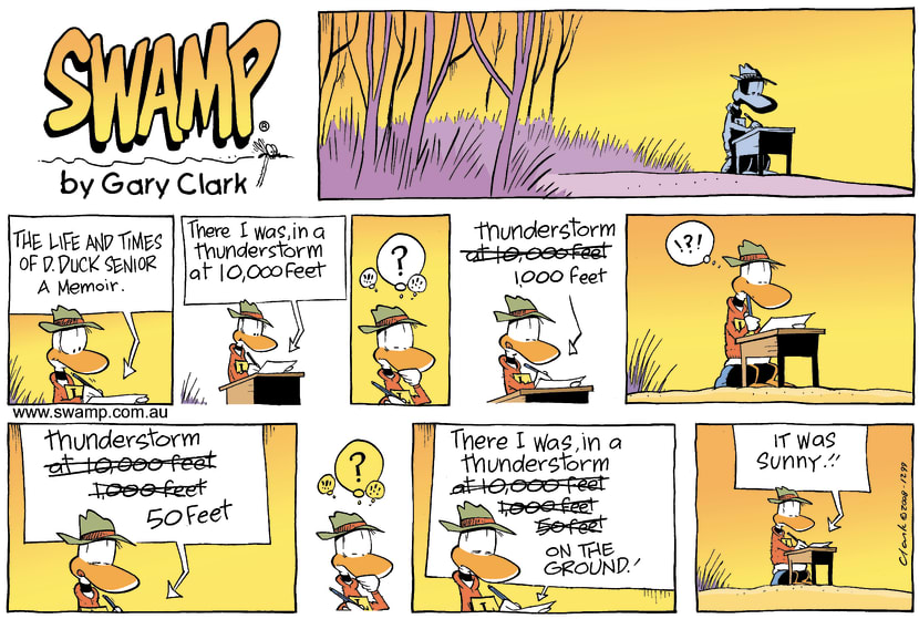 Swamp Cartoon - Memory LaneJune 15, 2008