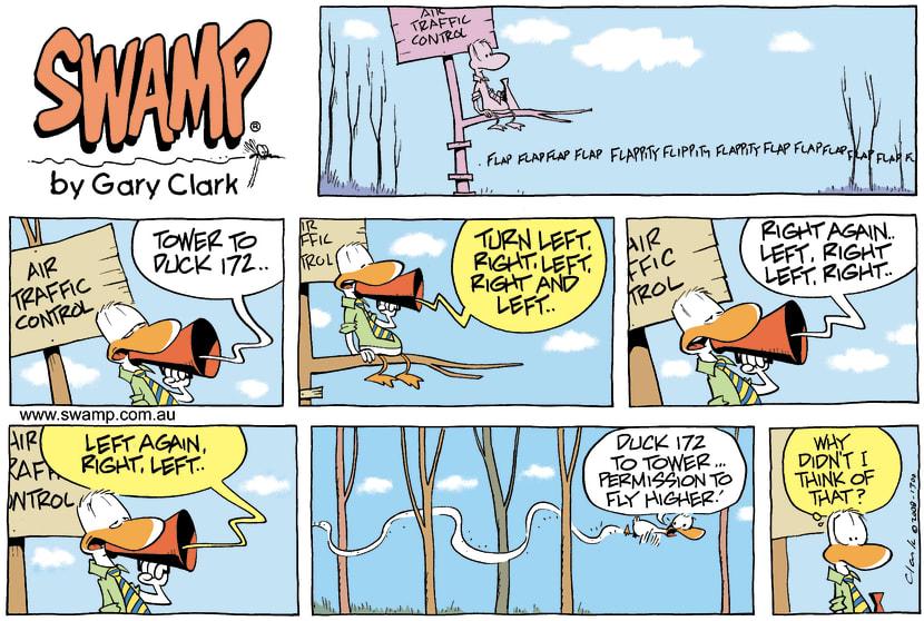 Swamp Cartoon - Low MomentJune 22, 2008