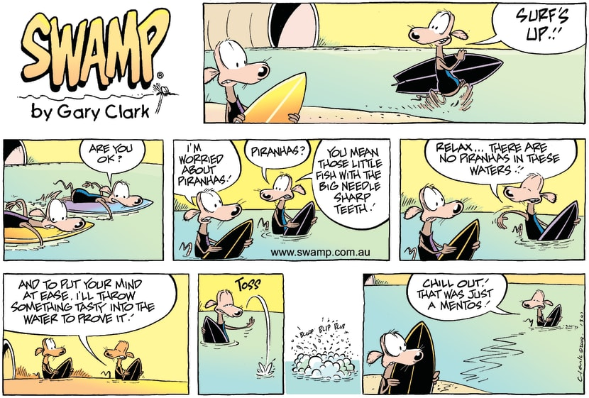Swamp Cartoon - Sludge is up!!!August 10, 2008