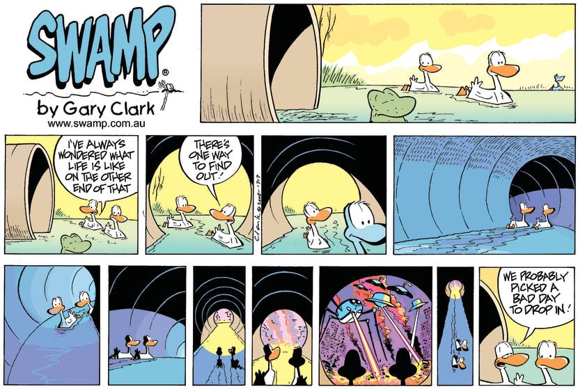Swamp Cartoon - The Other SideSeptember 21, 2008