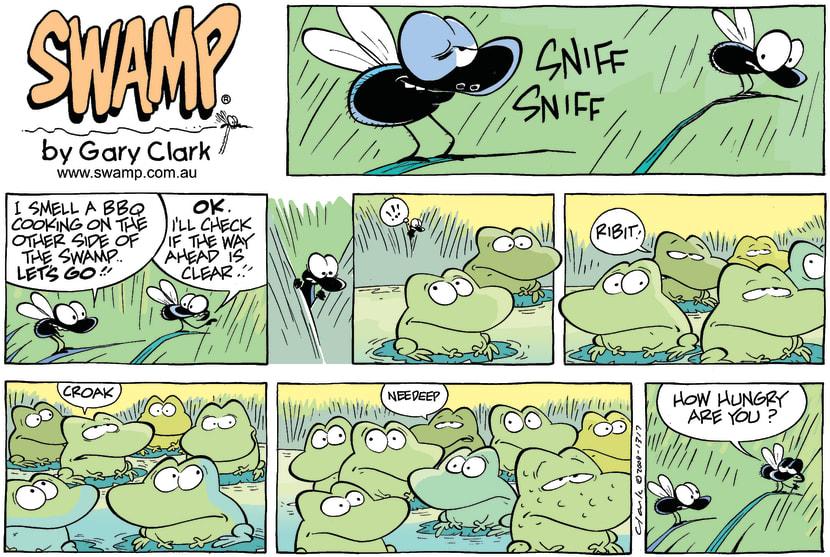 Swamp Cartoon - Cross CountryOctober 19, 2008