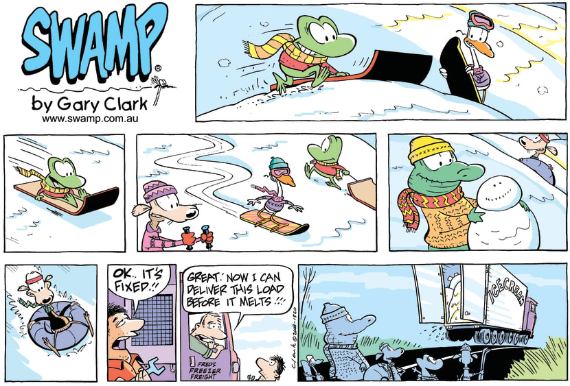 Swamp Cartoon - Winter Fun?November 9, 2008