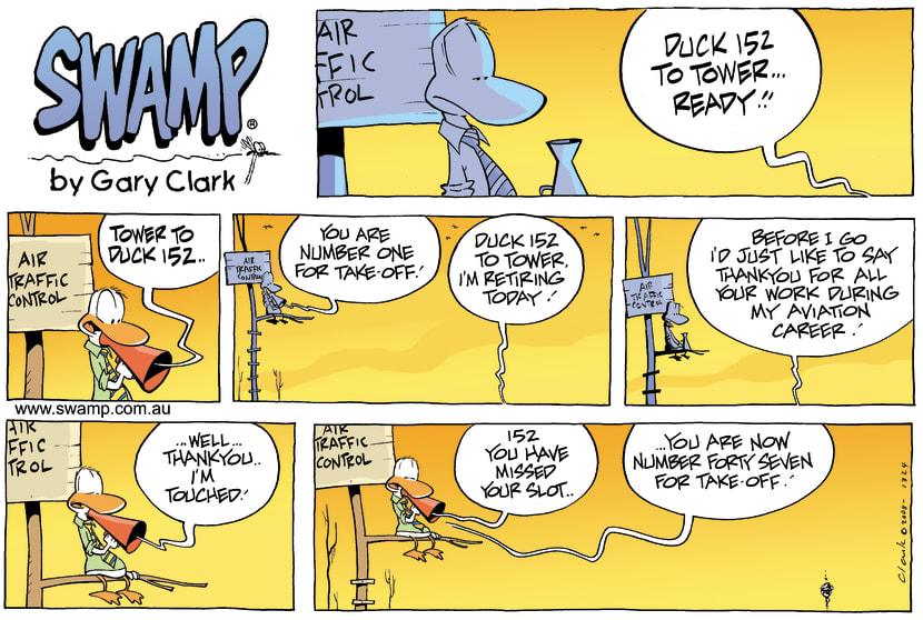 Swamp Cartoon - Fond FarewellDecember 7, 2008