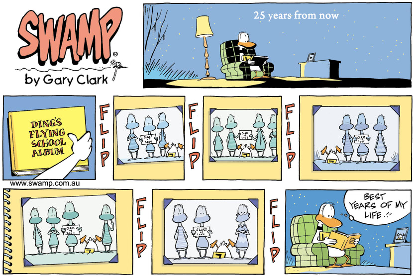 Swamp Cartoon - 25 years from nowFebruary 22, 2009