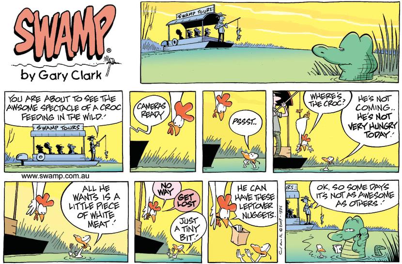 Swamp Cartoon - Menu RequestMarch 1, 2009