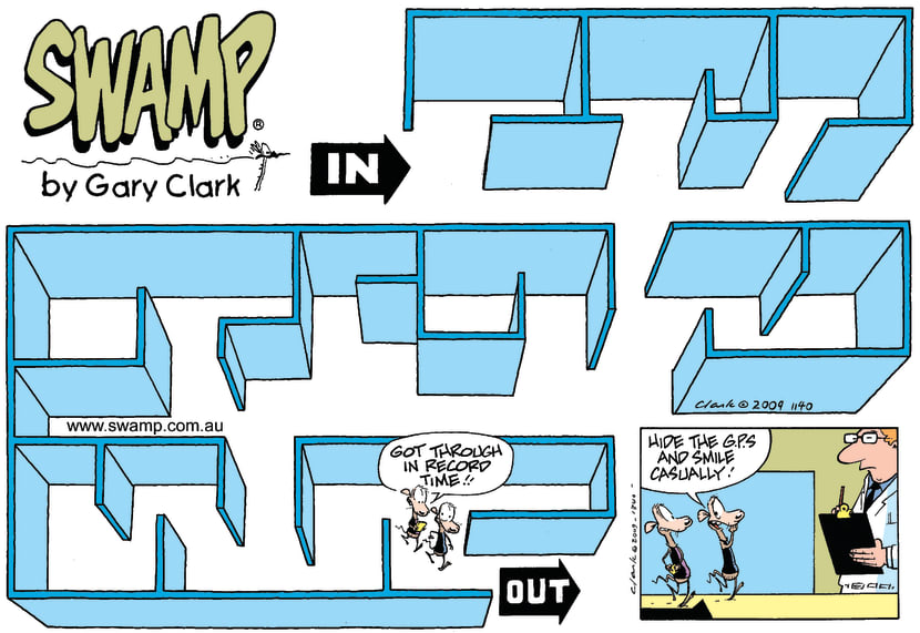 Swamp Cartoon - It's AMAZING!March 29, 2009