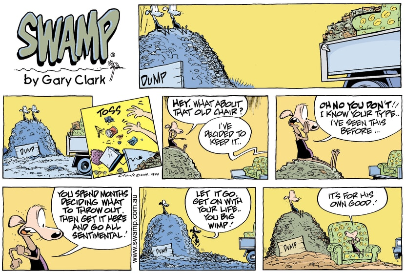 Swamp Cartoon - High LivingMay 31, 2009