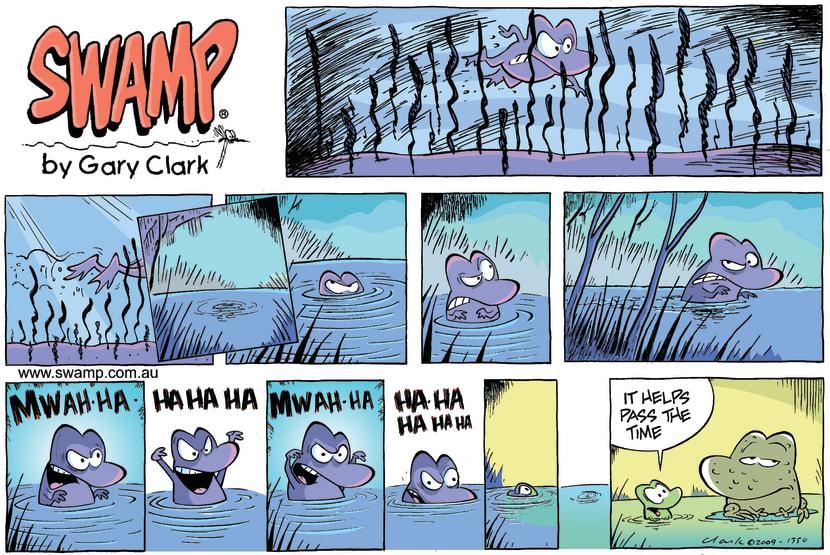 Swamp Cartoon - Fright NightJune 7, 2009