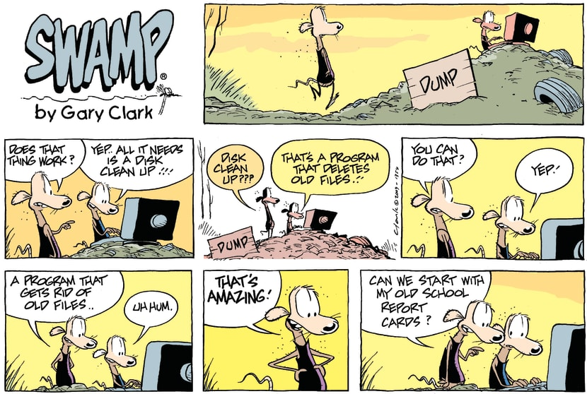 Swamp Cartoon - The Future as Rats see it…July 5, 2009
