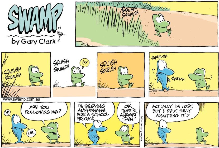 Swamp Cartoon - Poor AdmissionSeptember 13, 2009