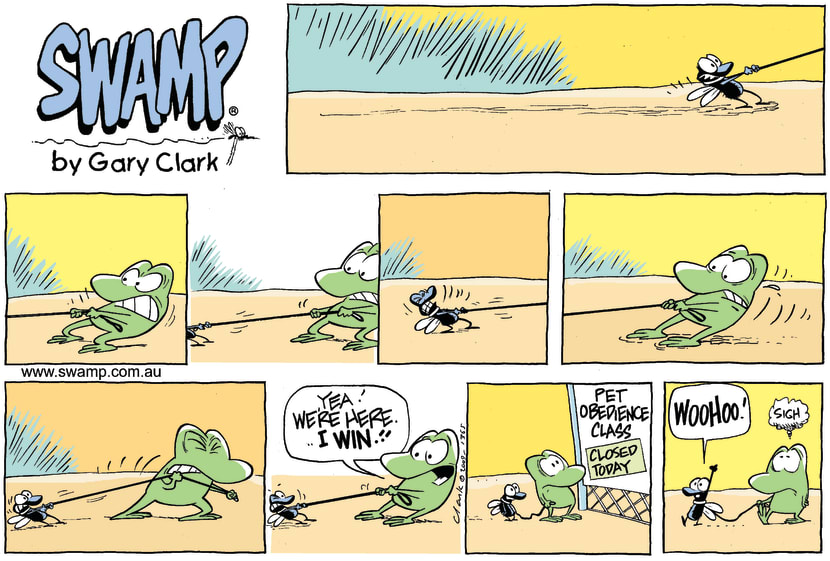 Swamp Cartoon - Good TimingSeptember 20, 2009