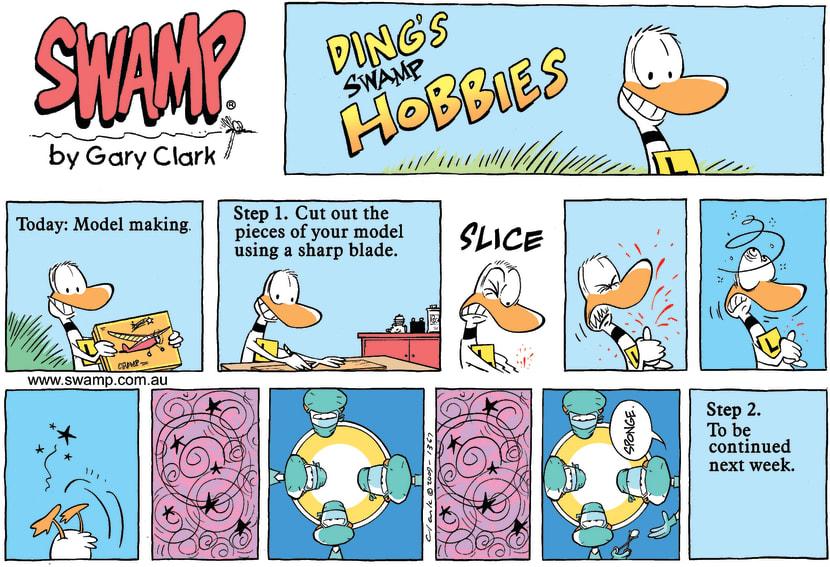Swamp Cartoon - Ding's Swamp HobbiesOctober 4, 2009