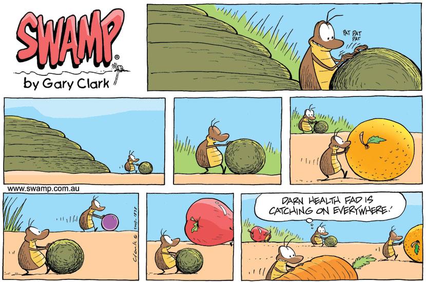 Swamp Cartoon - Crazy FadsNovember 15, 2009
