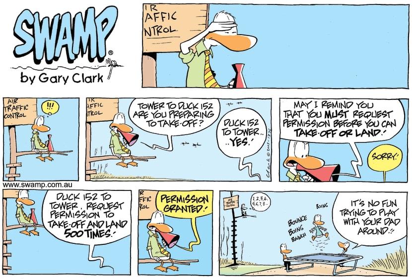 Swamp Cartoon - Parental DisciplineDecember 6, 2009