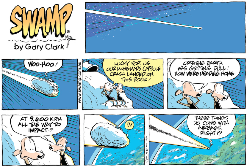 Swamp Cartoon - Down, Down and Away!!!!March 14, 2010