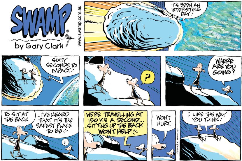 Swamp Cartoon - Space RaceMarch 21, 2010