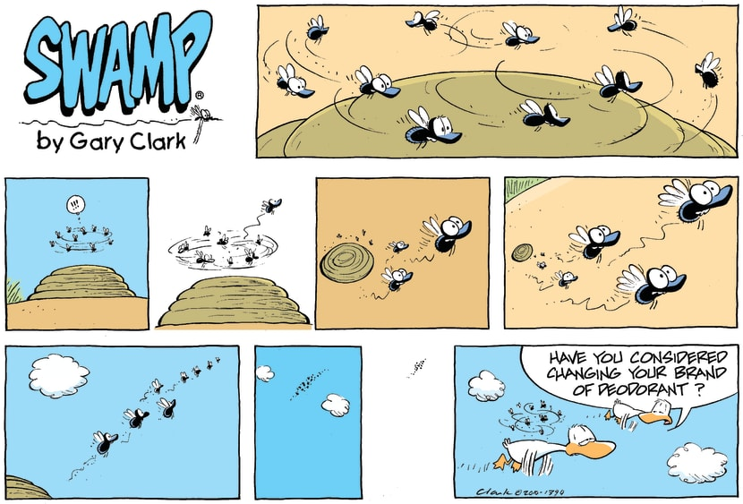 Swamp Cartoon - Subtle HintApril 11, 2010