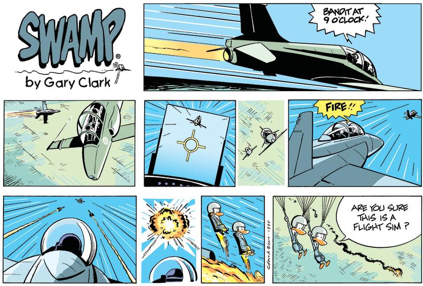 Swamp Cartoon - Living the Dream…April 18, 2010