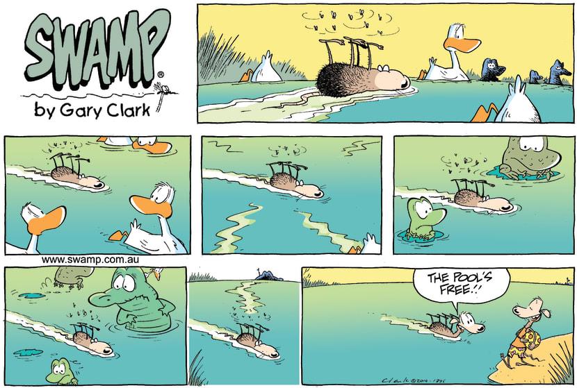 Swamp Cartoon - Swamp Rat Water ComicApril 25, 2010