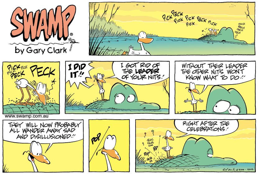 Swamp Cartoon - Nit WitJune 6, 2010