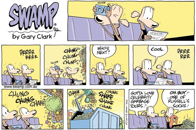 Swamp Cartoon - SightsmellingJune 13, 2010